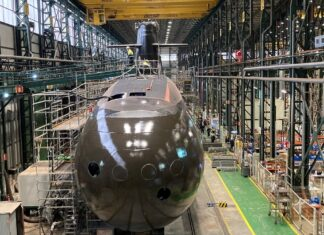 Navantia To Launch First S80 Submarine For Spanish Navy On April 22nd