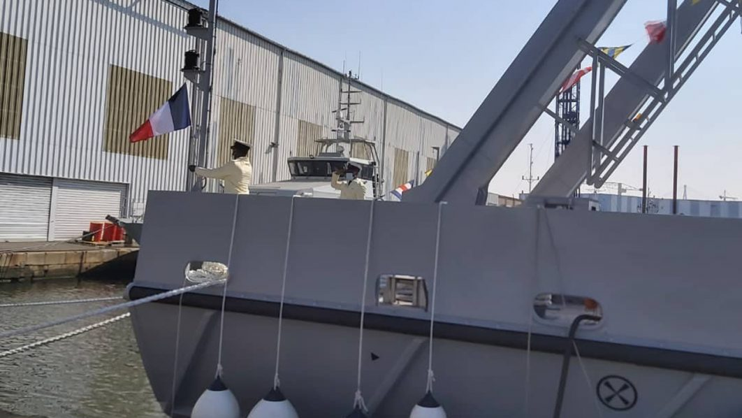 navy takes delivery of new offshore vessel