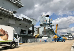 HMS Queen Elizabeth Sails in Preparation for Asia-Pacific Deployment