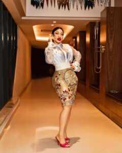 Actress, Tonto Dikeh gets cash gift of N2M for her birthday